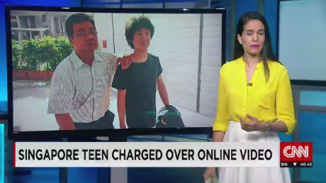 Singapore teen charged over YouTube rant