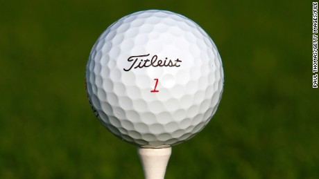 ANTALYA, TURKEY - NOVEMBER 23: A Titleist ball sits on a PGA branded tee during day one of the Titleist PGA Playoffs on the PGA Sultan Course at Antalya Golf Club on November 23, 2013 in Antalya, Turkey. (Photo by Paul Thomas/Getty Images)