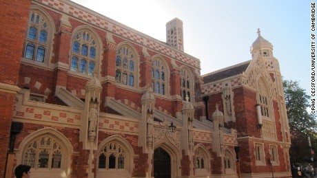 The Old Divinity School at St John's College, University of Cambridge.