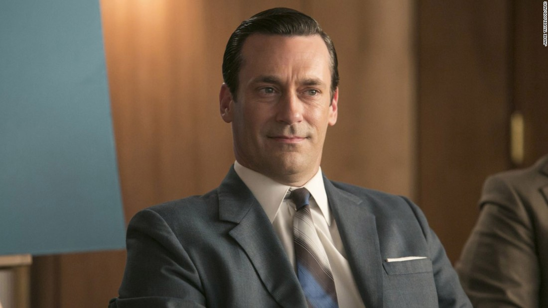 "<strong>Best <strong></strong>actor in a television series -- drama:</strong> Jon Hamm, ""Mad Men"""