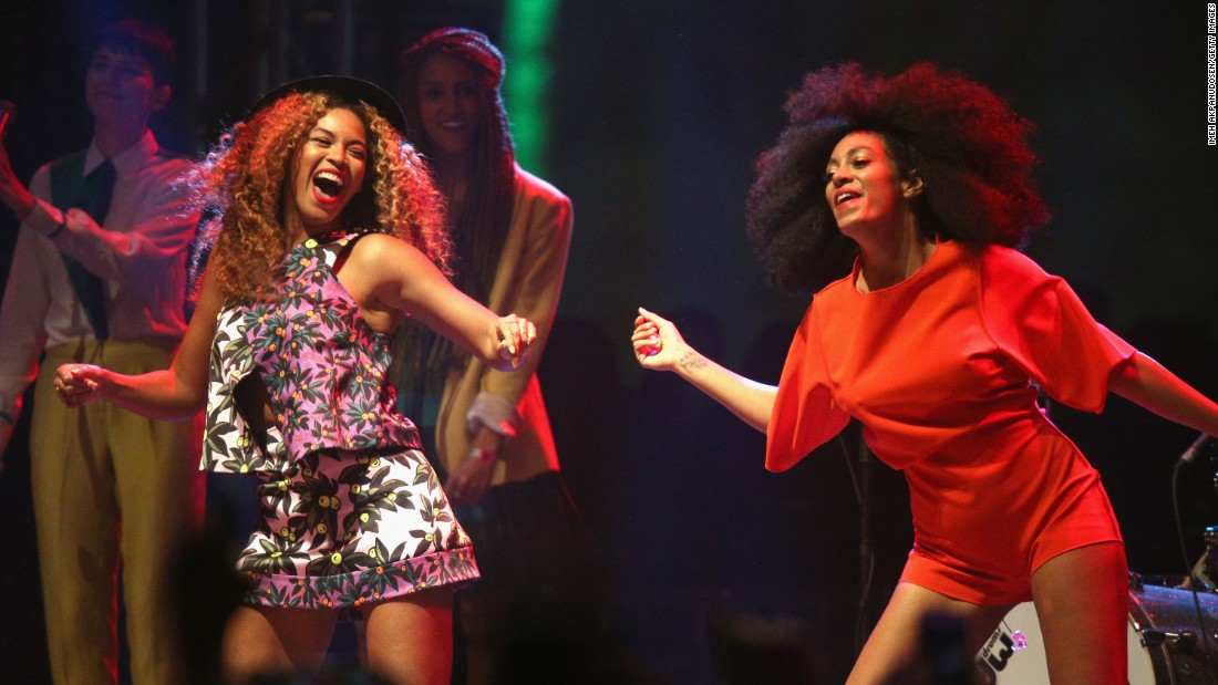 Sisters and singers Beyonce, left, and Solange Knowles have been performing since they were children.