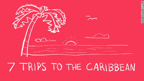 Bob Menendez vacation illustration