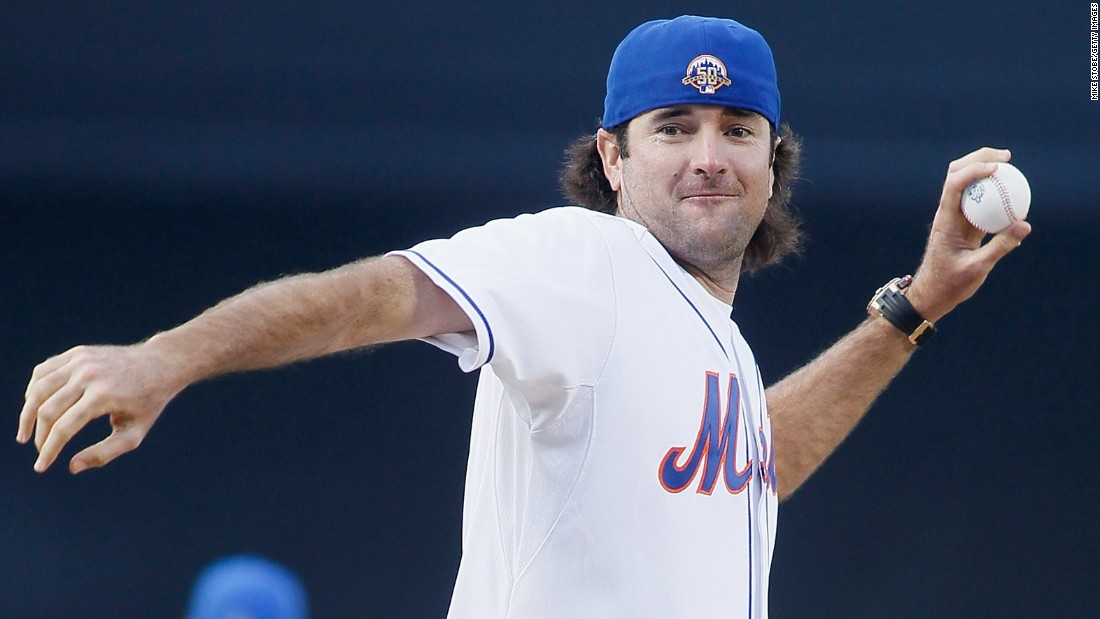 Watson chose golf over baseball, initially to his dad's dismay. His parents were New York Yankee fans but in 2012 he threw out the first pitch wearing a jersey of the New York Mets. Well, he <em>was</em> at a Mets game.