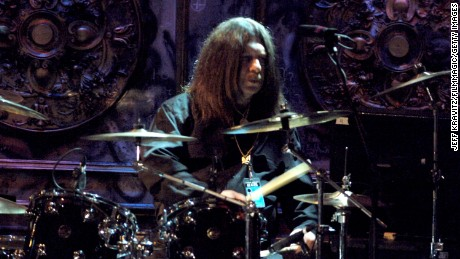 Lynyrd Skynyrd drummer Robert Burns performed with the band for its 2006 induction into the Rock and Roll Hall of Fame.