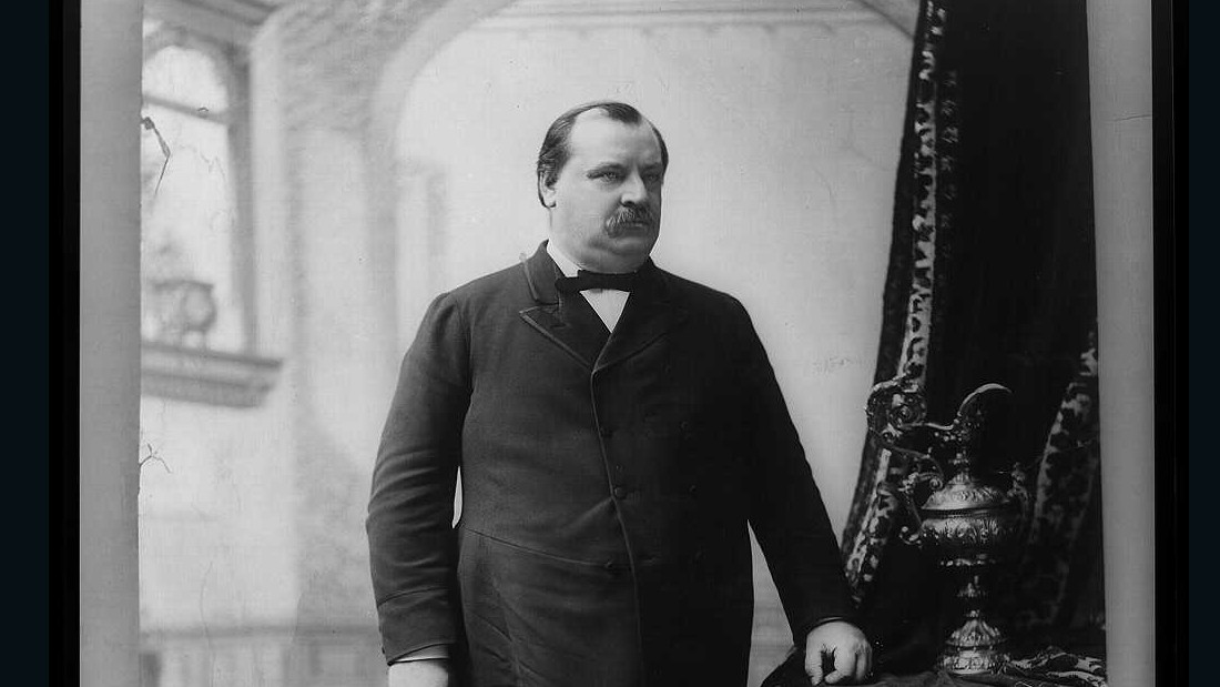 """Blaine, Blaine, James G. Blaine, The Continental Liar from the State of Maine,"" was Grover Cleveland's slogan in 1884. He served as both the 22nd and 24th president of the United States."