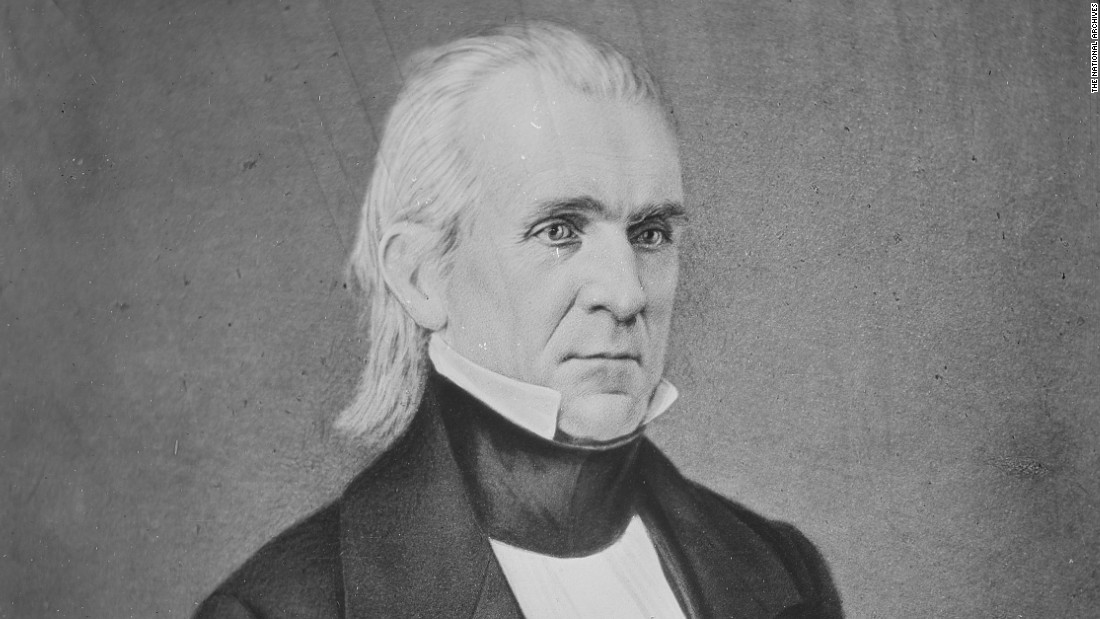 """54-40 or Fight"" was James K. Polk's slogan in 1844 — a reference to the territory expansion the U.S. hoped to make. The northern border of the Oregon was located at the 54 degrees, 40 minutes line of latitude."