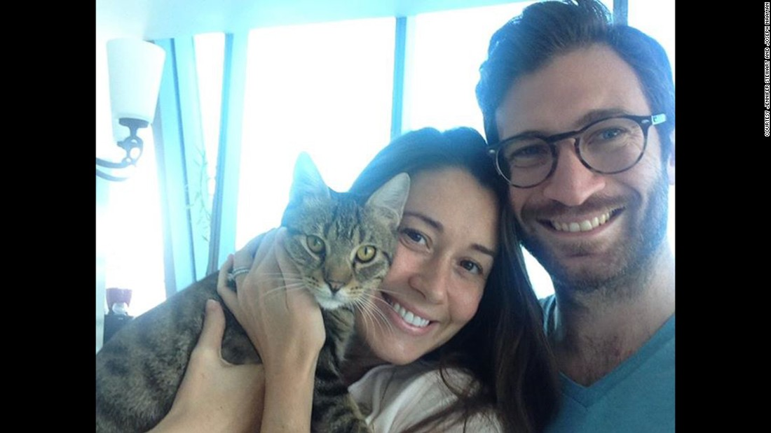 Jennifer Stewart, her husband Joseph Naaman, and Felix were flying to the U.S. after living in Abu Dhabi for more than three years.