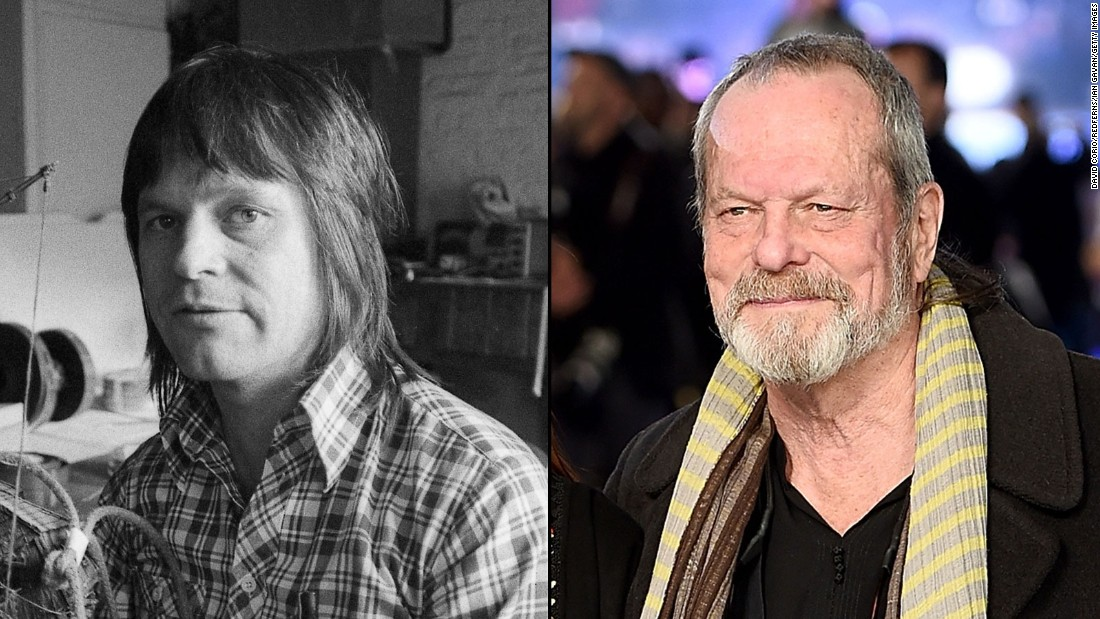 "Terry Gilliam, 73, became a noted film director, best known for 1985's ""Brazil,"" 1991's ""The Fisher King"" and ""Twelve Monkeys"" in 1995. J.K. Rowling wanted him to direct the first Harry Potter film, but the studio didn't want the famously independent Gilliam. Like the other Pythons, he appeared in ""Monty Python Live (mostly)"" last year, and has several other projects in the works."