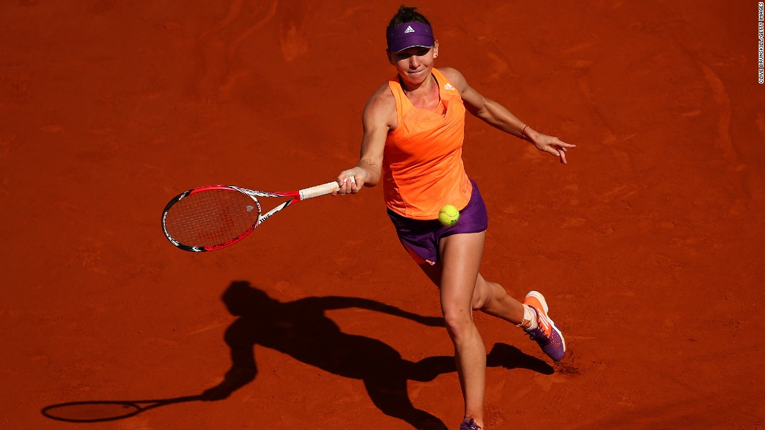 Simona Halep is pushing for a first French Open and grand slam title. She won the biggest title of her career at Indian Wells last month and narrowly lost to Serena Williams in Miami two weeks later.