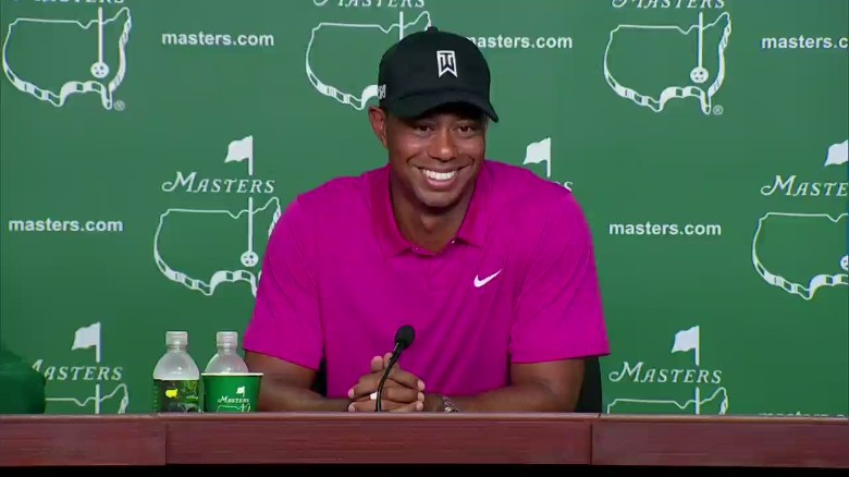 "Tiger: ""I worked my ass off"""