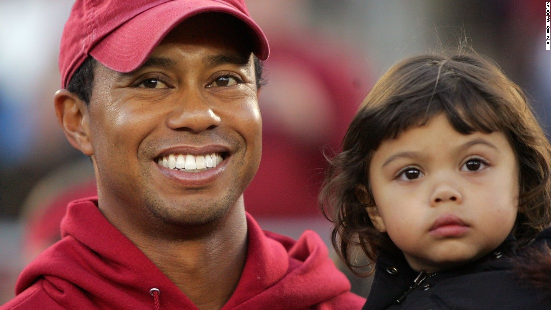 Tiger Woods has announced that his two children will caddy for him at the 2015 Masters Par 3 Contest at Augusta.