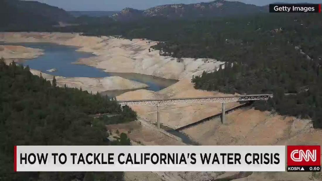 California enduring historic drought