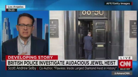 Expert on Hatton Garden jewel heist