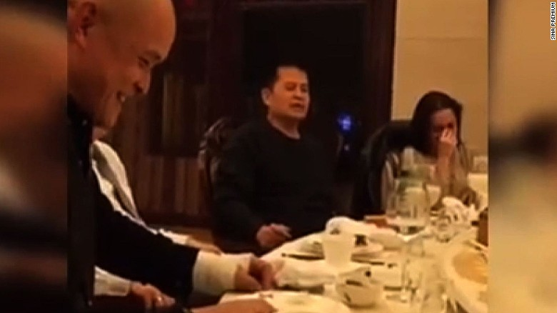 Chinese TV star caught on camera insulting Mao