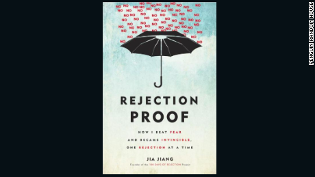 Jiang's book gives tips on how to embrace rejection and use it to your advantage.