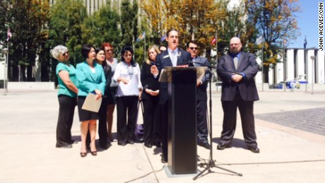 Three Orange County supervisors announce a petition drive to recall a judge.