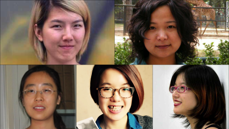 Chinese feminist activists could face 5 years in prison