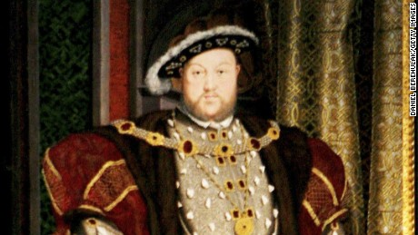 King Henry VIII by Hans Holbein at Tate Britain. He was not to be crossed.