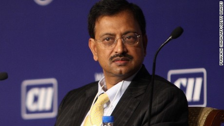 Ramalinga Raju, the former chairman of software services exporter Satyam Computers Services, pictured in 2008.