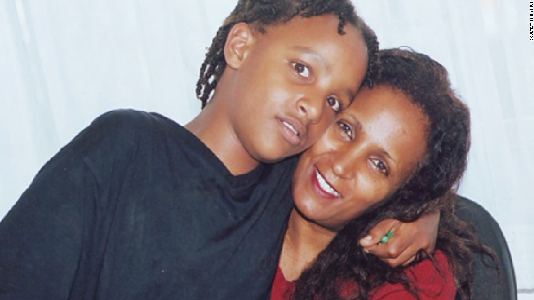 Zemi Yenus was a successful beautician in the U.S. But upon returning to Ethiopia, her son Jojo Yusuf, pictured left, was diagnosed with autism.<br />