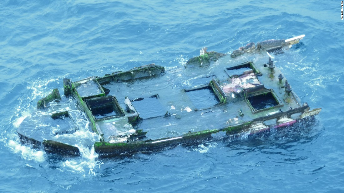 Debris, presumed to be from 2011 Japan tsunami, found in Oregon