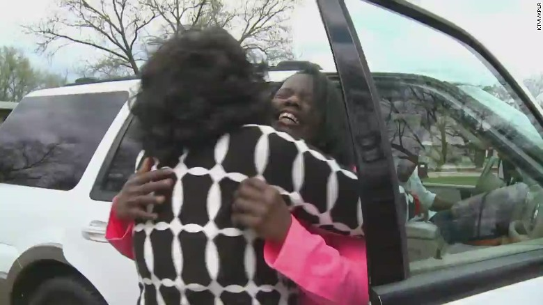Mom reunites with daughter 50 years later