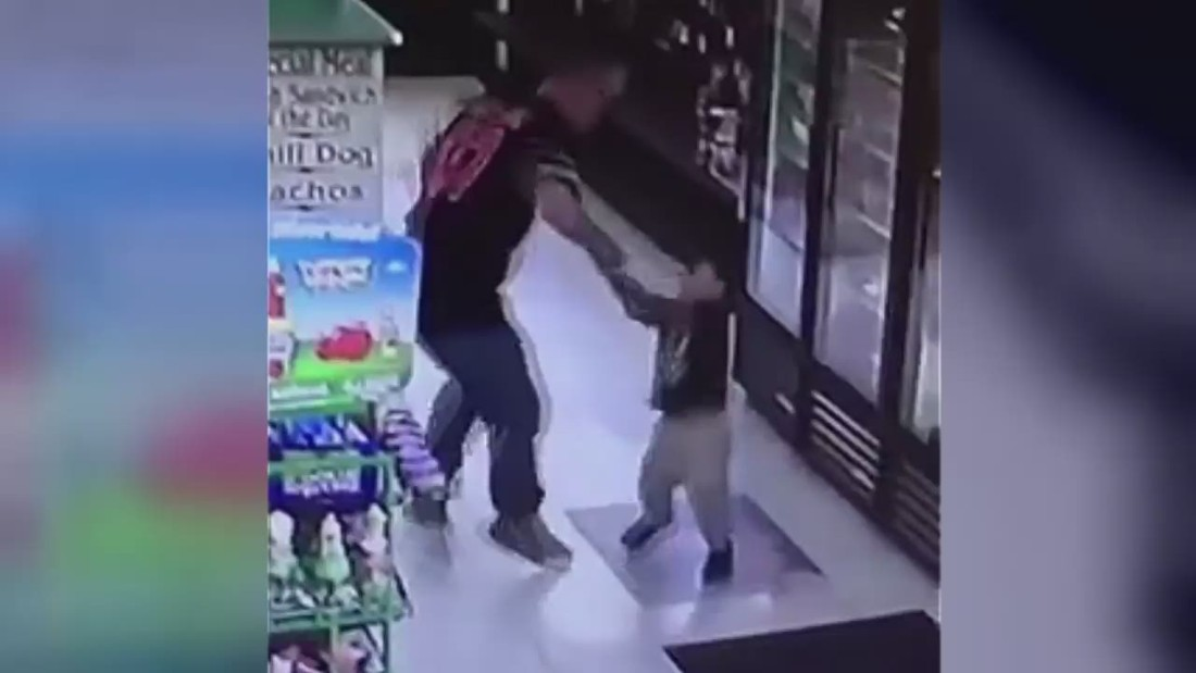 Man arrested after punching child in the face