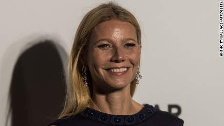 Caption:US actress Gwyneth Paltrow poses on the red carpet during the 2015 amfAR Hong Kong gala at Shaw Studios in Hong Kong on March 14, 2015. amfAR, the Foundation for AIDS Research, held its inaugural fundraising gala in Hong Kong on March 14. AFP PHOTO / ANTHONY WALLACE (Photo credit should read ANTHONY WALLACE/AFP/Getty Images)