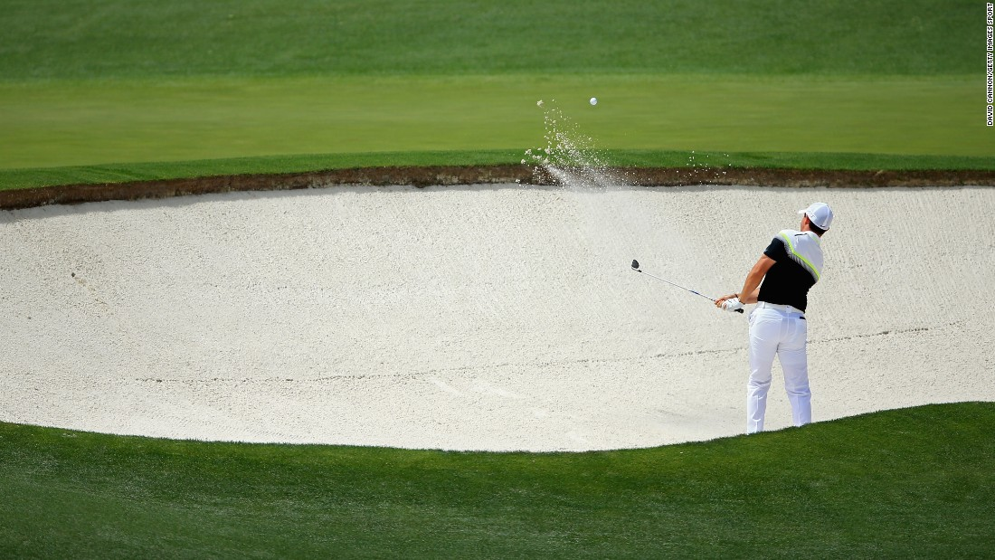 McIlroy enjoyed a brilliant front nine, but fell away during the last few holes.