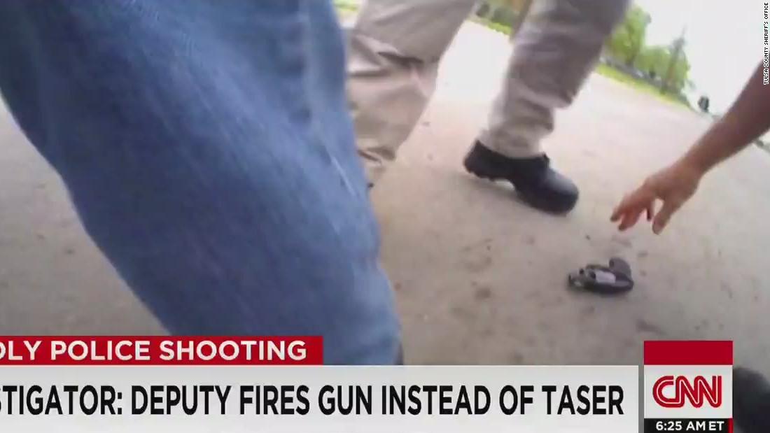 Deputy charged in Tulsa shooting