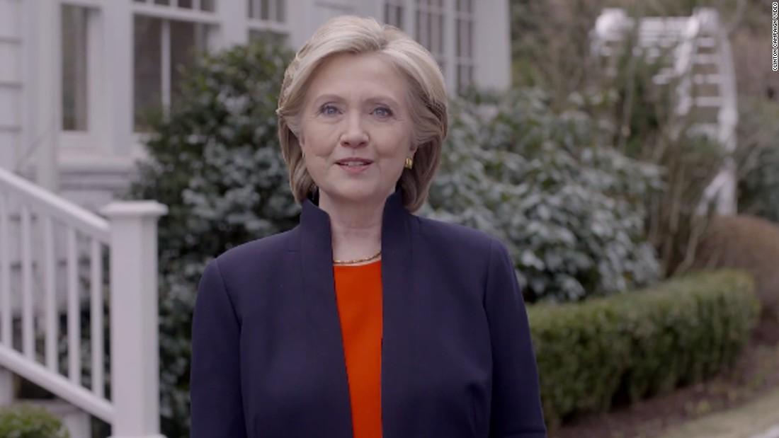 Hillary Clinton launches second presidential bid
