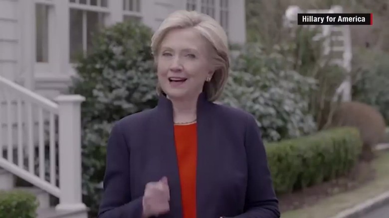 Hillary Clinton's 2016 announcement in under 2 minutes