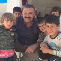yazidi refugee camp hamdi children