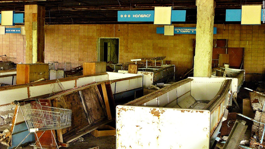 The rotting remains of an abandoned superstore hold fascinating appeal for some.