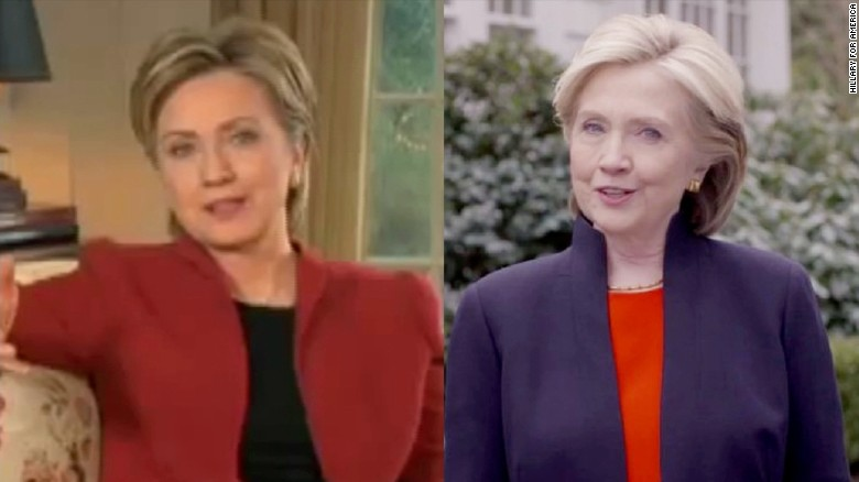 Hillary Clinton doing opposite in 2016 than in 2008