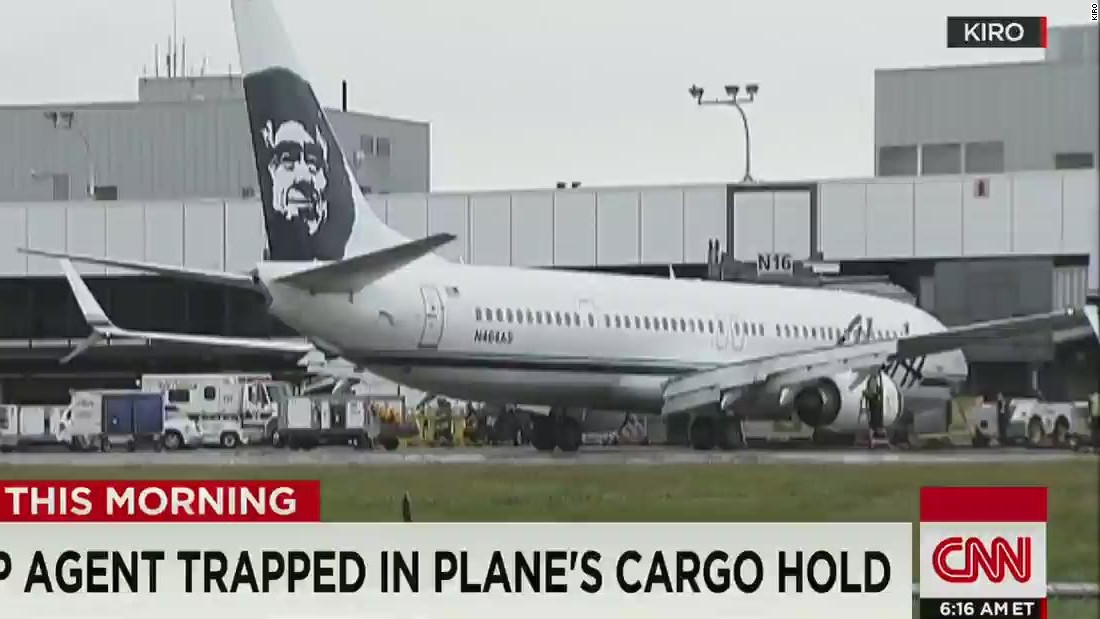 Asleep Ramp Agent In Cargo Hold Leads To Alaska Airlines