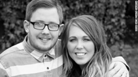 Josh and Vanessa Ellis were killed, along with their 8-month-old son, Hudson. The couple were youth pastors at their church.