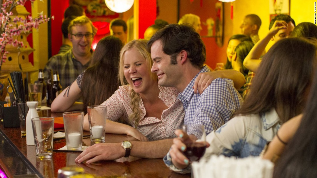 "Amy Schumer's ""Trainwreck"" racked up a nomination for best musical or comedy along with ""The Big Short,"" ""Joy,"" ""The Martian"" and ""Spy."""