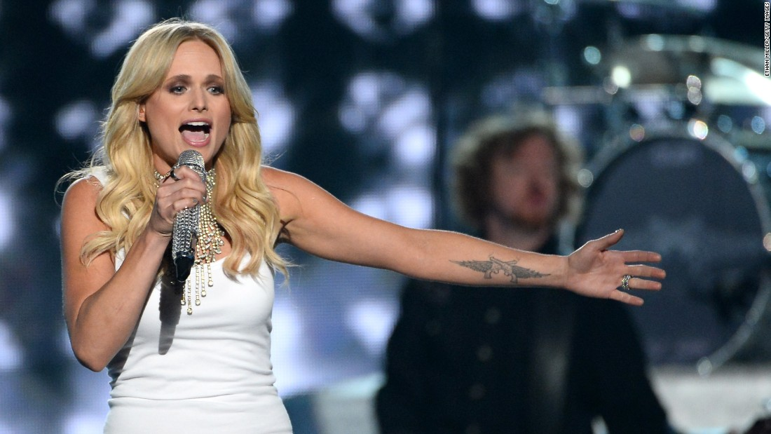 Miranda Lambert and other country stars don their finest for the Academy of Country Music Awards at 8 p.m. ET Sunday on CBS.
