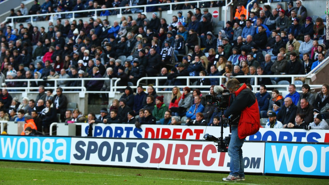 "Adverts for Ashley's Sports Direct stores are emblazoned everywhere around St James' Park. The team also has payday loans company Wonga as its shirt sponsor, a decision that has angered supporters and politicians. The leader of Newcastle City Council, Nick Forbes, told CNN the club's association with both brands is ""cheap and tacky."""