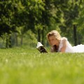 Creative: reading in the park