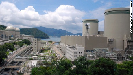 Kansai Electric Power Company's Takahama nuclear plant in western Japan.