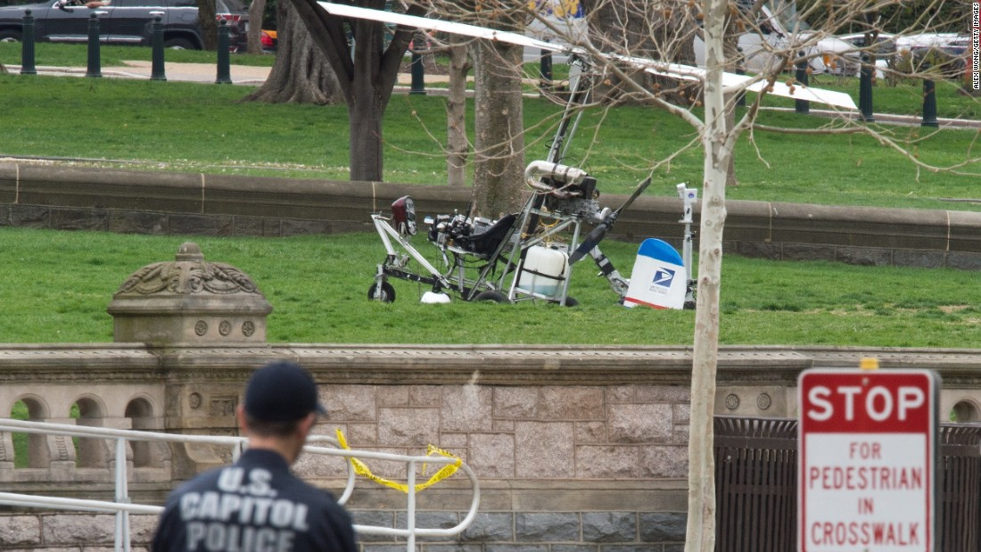 Pilot who landed gyrocopter at U.S. Capitol blogged about why