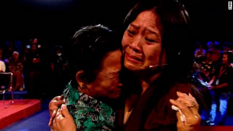 Ly Sivhong is reunited with her mother, decades after she believed she had been killed.