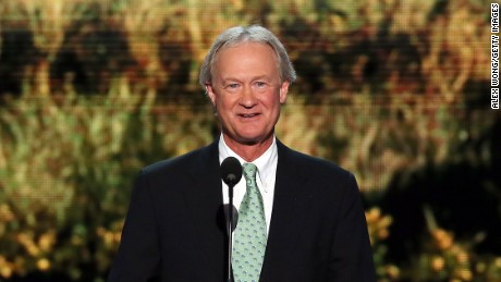 Chafee: look at me, I'm scandal-free