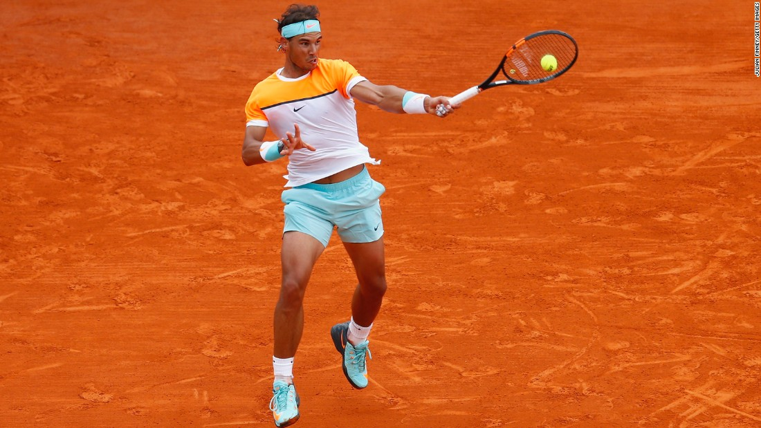 "Nadal arrived at this year's French Open ranked seventh in the world -- his lowest position coming into the clay-court grand slam when he has played the event. ""I'm going to be ranked lower than ever playing Roland Garros, so that will mean the chance to play against very tough opponents,"" Nadal said. ""I don't know what's going to happen, but I'm going to fight for it."""