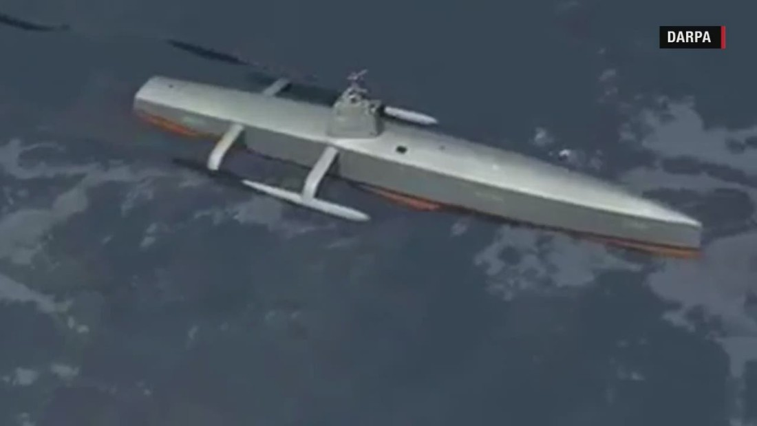 Stealthy enemy submarines can't hide from this ....