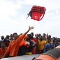 moas migrants recue life jackets