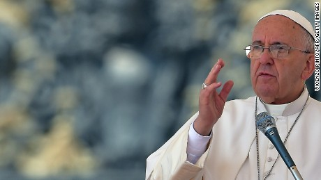 The pope has said he hopes his encyclical on the environment will reach a wide audience.