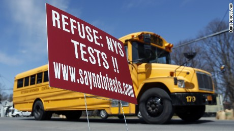 Parents all over U.S. 'opting out' of standardized student testing